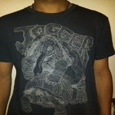Image of Jogger Charcoal/Black Tee