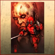 Image of Dead Pool Print