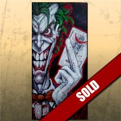 Image of The Joker Original Acrylic on Canvas