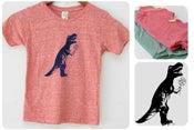 Image of 9, Dinosaur T-Rex Recycled Shirt, Wholesale, Children
