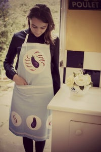 Image of Aubergines & Chillies Apron