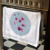 Fuchsia Tea Towel