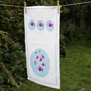 Image of Fuchsia Tea Towel