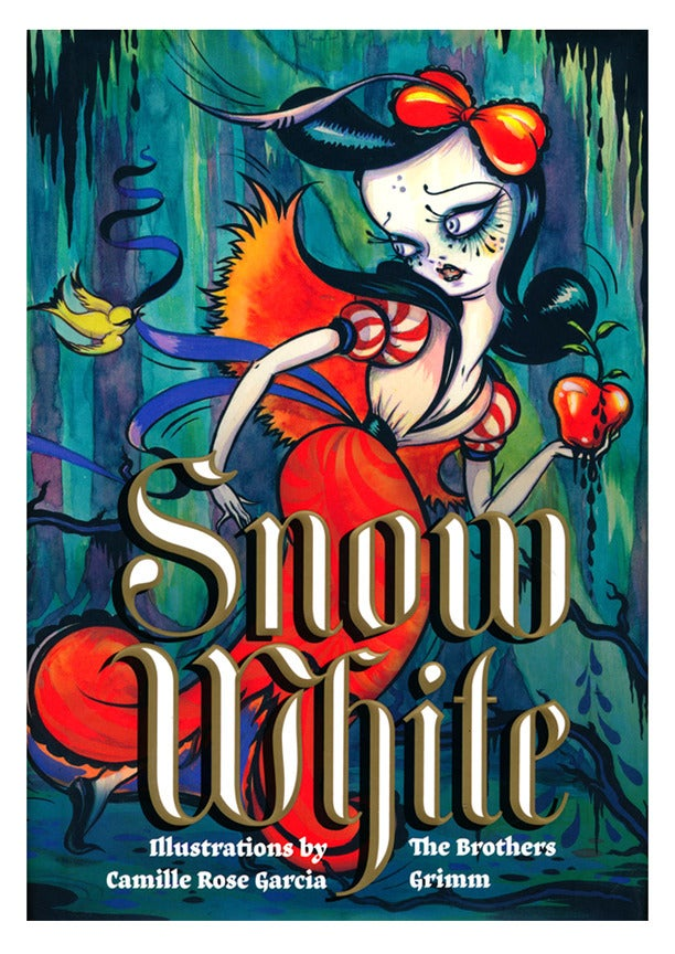 Snow White Book Cover ~ Snow white book signed copy camille rose garcia store
