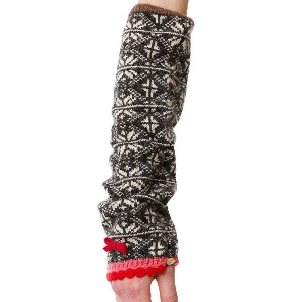 Image of Odd Molly Sleevewarmer (Grey/Melange)