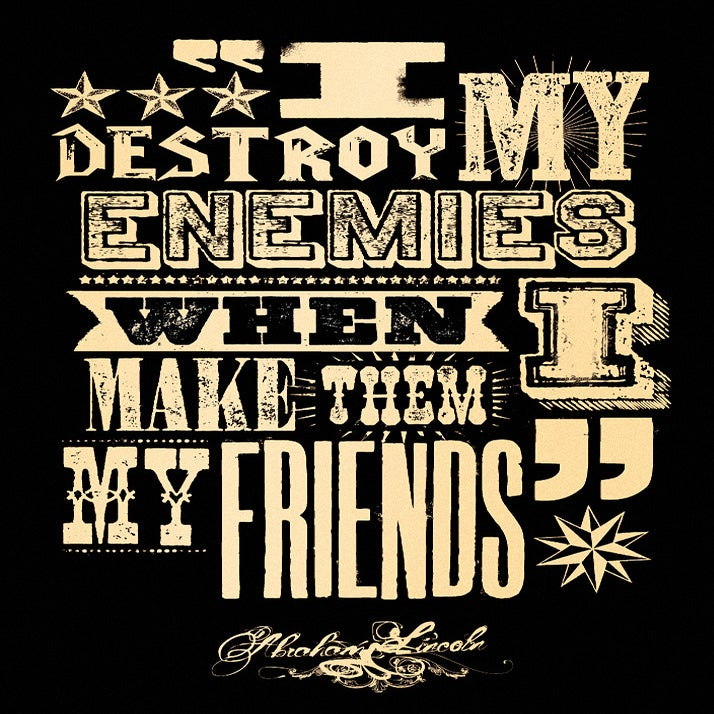 Image of I destroy my enemies