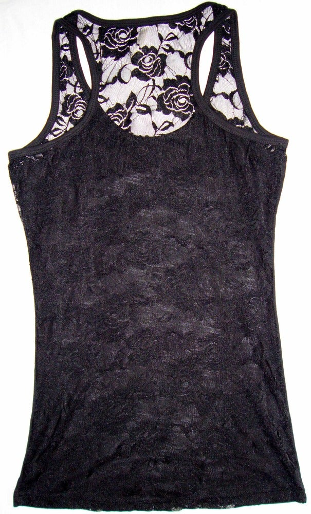 Image of Ladies - Marilyn lace back tank