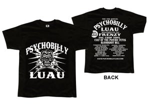 Image of Psychobilly Luau Men's Tee 2012