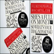 Image of Film Zine People Sticker Pack