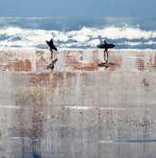 Image of Atlantic Breakers at Polzeath, Cornwall