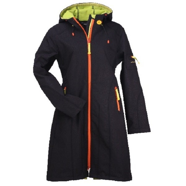 Image of Ilse Jacobsen Full Length Raincoat (Black/Colors)