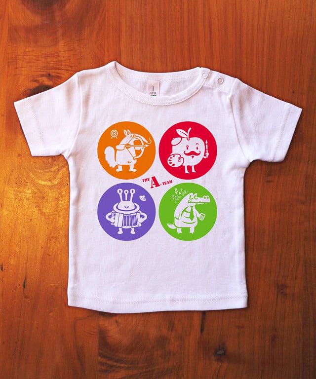 """Image of CLEARANCE """"THE A-TEAM"""" - Wee Tee"""