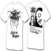 """Image of DARKTHRONE """"Circle The Wagons"""" Shirt"""