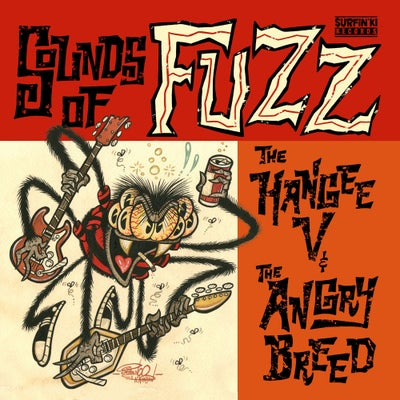 "Image of Hangee V / Angry Breed ""Sounds of Fuzz"" split 7"""