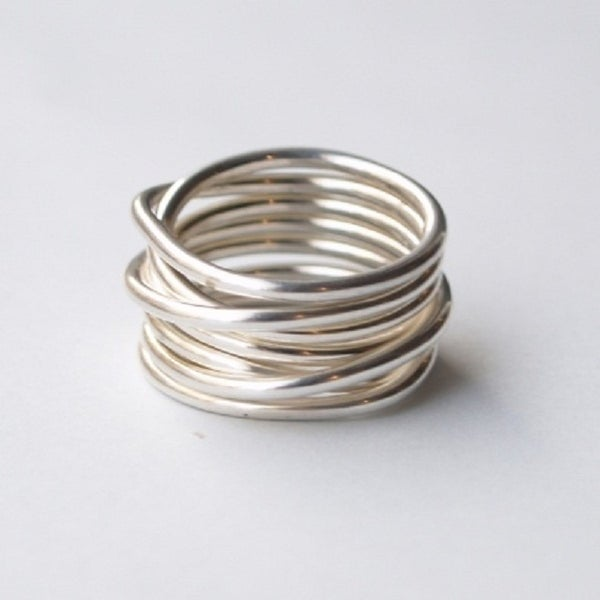 Image of Astrid Bjork's Whirl Ring (Sterling Silver)