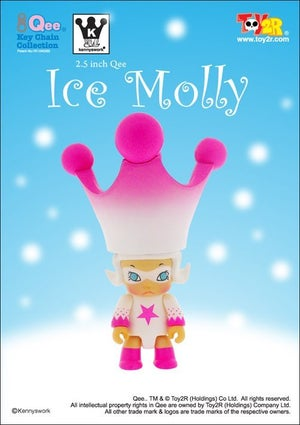 """Image of Qee Molly - Ice Special Variant  2.5"""""""