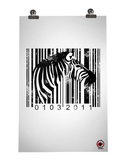 Image of Code Z Print