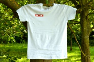 Image of Sloth T Shirt - White