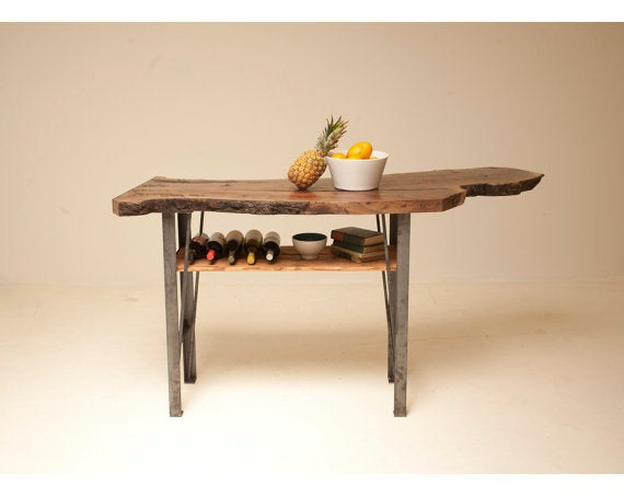 Image of Live Edge Kitchen Island