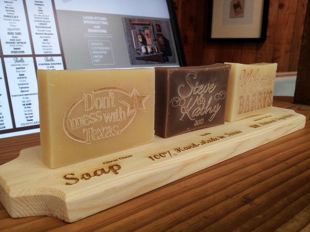 Image of Personalized Handmade Soap - Don't Mess with Texas
