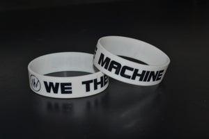 "Image of We The Machine ""Logo"" Rubber Wristband"