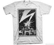 Image of Melbourne Strike Tee B&W