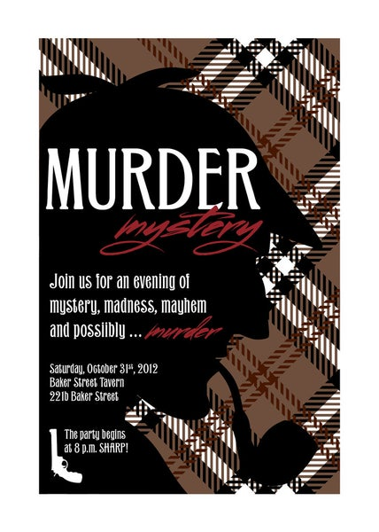 Image of Murder Mystery Party (Sherlock Holmes)