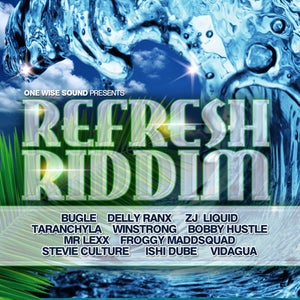 "Image of ""Refresh Riddim"" - CD"