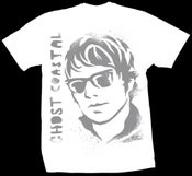 Image of GHOST STENCIL SHIRT WHITE