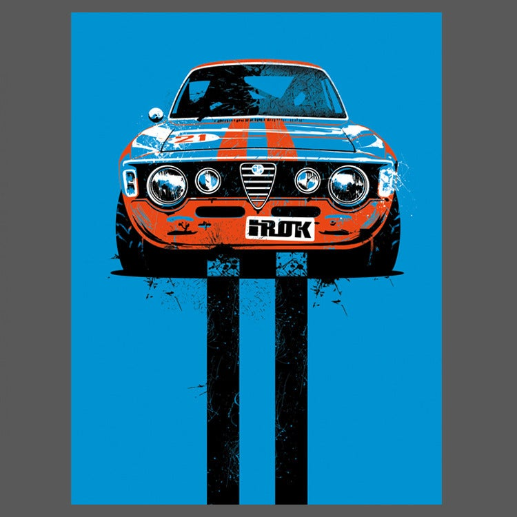 Image of Alfa Romeo 9x12 Limited Edition Print