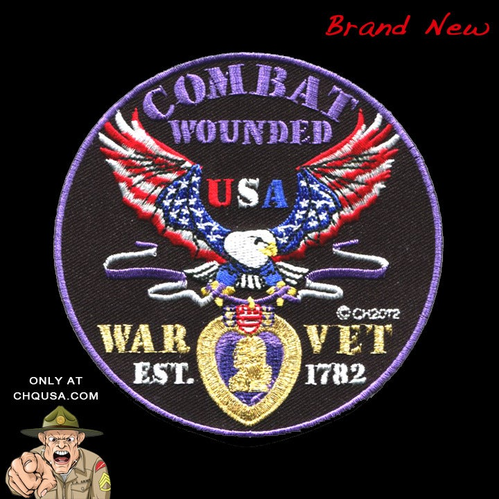 Image of PURPLE HEART / COMBAT WOUNDED - P24
