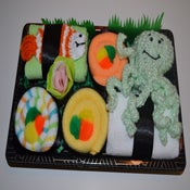 Image of Sushi, Baby! Baby Gift Set - Fish & Octopus Combo Neutral