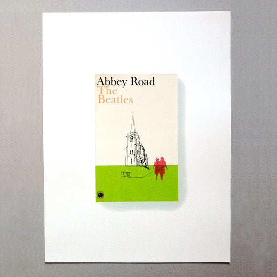Image of Abbey Road Screen Print Limited Edition