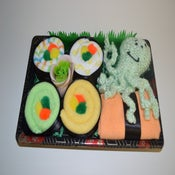 Image of Sushi, Baby! Neutral Baby Gift Set with Octopus Toy