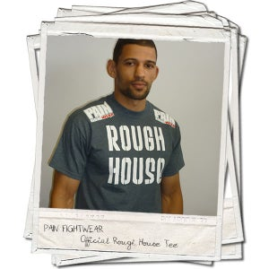 Image of OFFICIAL TEAM ROUGHHOUSE 'DISCIPLE' T'SHIRT DARK HEATHER