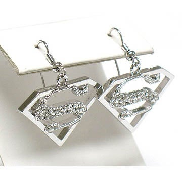 Image of Superman Earrings