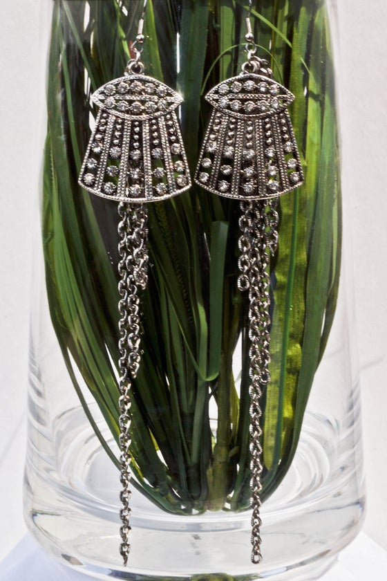 """Image of Aztec Hut Earrings <p style=""""color:yellow;"""">Two Pair Left!</p>"""