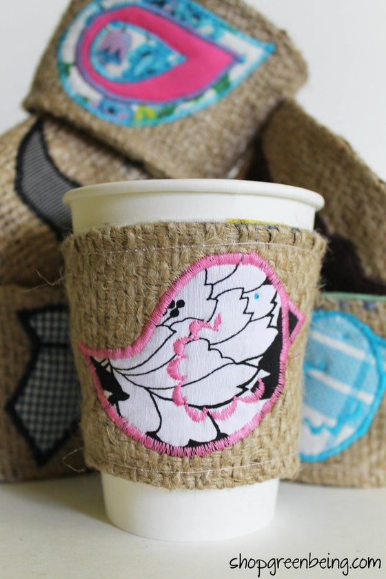 Image of Wholesale Order Reusable Coffee Cozies