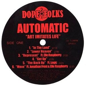 "Image of AUTOMATIC ""Art Imitates Life"" LP"