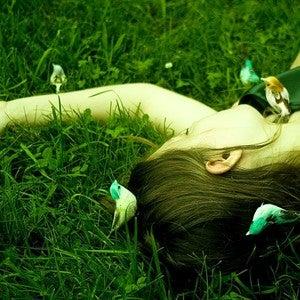 Image of bird girl - 8x12 print