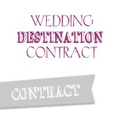 Image of Wedding Destination Contract