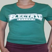 Image of Womens Philly Green Tee