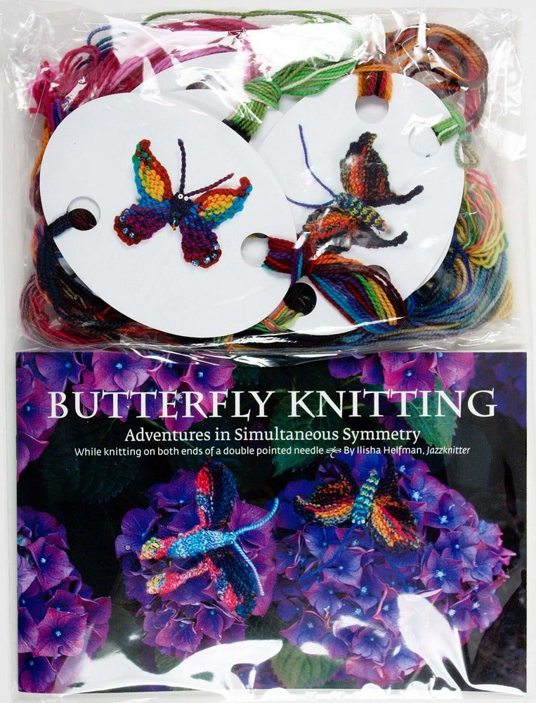Image of Jazzknitting Butterfly Book
