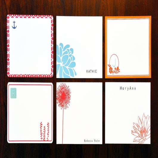 Image of Fine Flat Stationery Sets