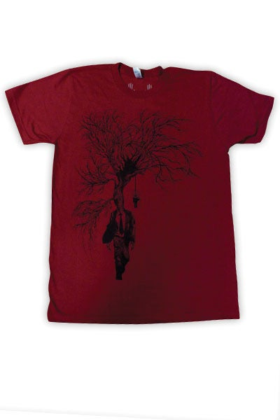 Image of Dying of Thirst Cranberry | by Alex Pardee | T Shirt