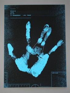 Image of Jack White Poster Lyon, France 2012