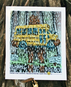Image of Yellow Bus - Archival Print