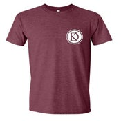 Image of Logo Tee - Heather Maroon