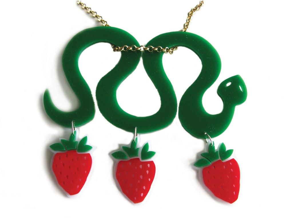 "Image of ""Overdosed"" Snake Necklace"