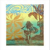 "Image of ""SUMMER DAZE"" Serigraph"